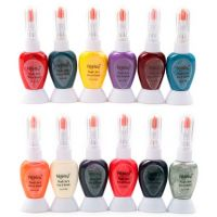 Foolzy Pack Of 12 Twoway Nail Art Paint Polish With Pen
