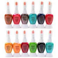 Foolzy Pack Of 12 Twoway Nail Art Paint With Pen - 85954394