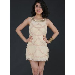 Schwof Lace Scoop Dress
