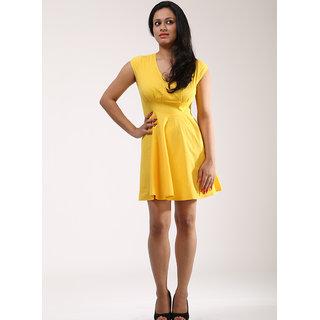 Schwof Yellow Cheer-up Dress