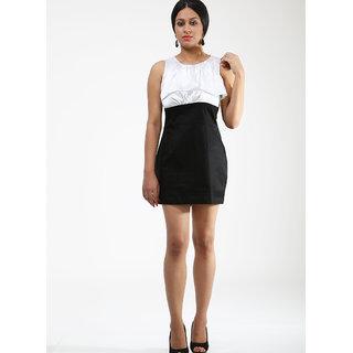Schwof Black / White Frill Dress