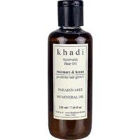 Khadi Ayurvedic Hair Growth Oil - Rosemary  Henna (Paraben Free) Hair Oil 210ml