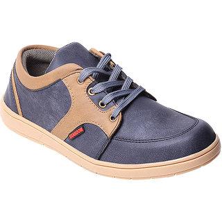 Stardom Mens Black Casual Shoes
