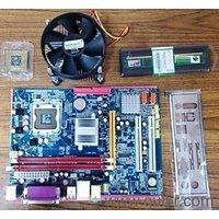 Intel Core 2 Due 2.6GHZ+G31 Motherboard+Ram DDR2 1GB  And 1 USb Mouse Free(1year Warranty)