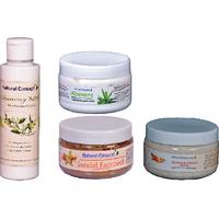 SP. OFFER - Facial Kit - (cleansing Milk + Facepack + Scrub + Massage Cream)