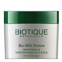 Biotique Bio Milk Protein Whitening And Rejuvenating Face Pack (60 G)