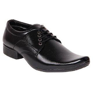Dox Men'S Black Formal Shoes (Dos_Ra07_Black)