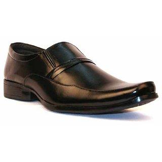 Dox Men'S Black Formal Shoes (Dos_Bt028_Modish Black)