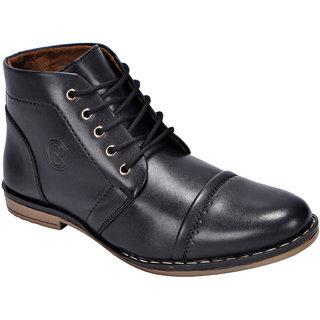 Bachini Men's Casual Shoes 1535-Black