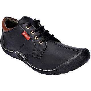 Bachini Men's Casual Shoes 1536-Black
