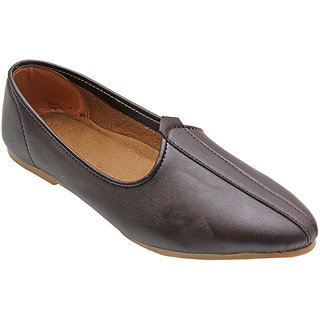 DARKBROWN GENUINE LEATHER JALSA SLIP-ON WITH BROWN SOLE BY PORT