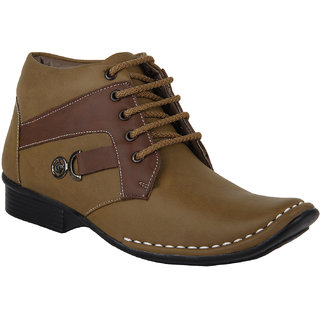 Marco Ferro Beige Casual Shoes (1546-Beige)