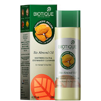 Bio Almond Oil Soothing Face & Eye Make Up Cleanser For Normal To Dry Skin -120 Ml