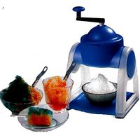 New Manual Gola Maker With Slush Maker And Ice Crusher Made From Virgin Plastic & Smooth Finish Makes It Super Safe