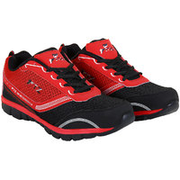 Fitze Sports Shoes For Men Made By Mesh Textile And Eva Sole Red And Black - 85653284