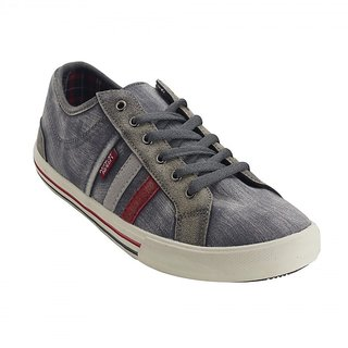 Urban Monkey Grey Lace-ups For Men (VUM03GREY)