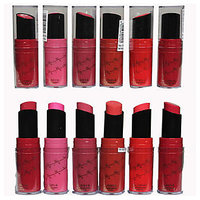 Steel Paris Lipstick Smooth Shinning And Long Lasting D Pack Of 6