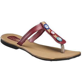 Yepme Women's Brown Stylish Design Sandals