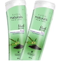 Naturals Black Shine 2 In 1 Shampoo & Conditioner Combo Of Two