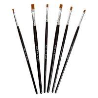 6pcs Nail Art Brushes Set