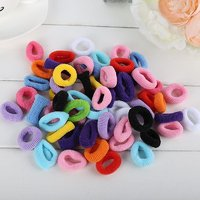 Set Of 40hair Rubber Bands For Girls