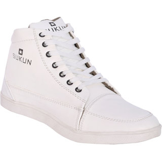 Sukun White Casual Shoes For Men (SKU900WHT)