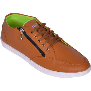 Sukun Beige Casual Shoes For Men (SRT201BEG)