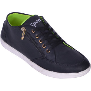 Sukun Black Casual Shoes For Men (SRT201BLK)
