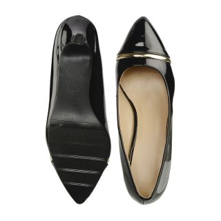 Bruno Manetti Black Heels (AS82655-13-Black)
