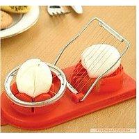 2 IN 1 Egg Slicer Cutter For Bento Salad Sandwich