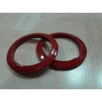 Onlineshoppee Wooden Bangles - Red (Option 1)