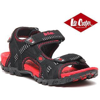 Lee Cooper Men Sandal 4540 Black Red
