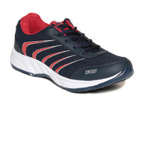 Watson Blue Red Running Sport Shoes For Men