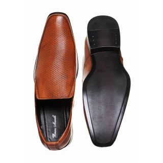 Bruno Manetti Tan Formal Shoes (1481-Tan)