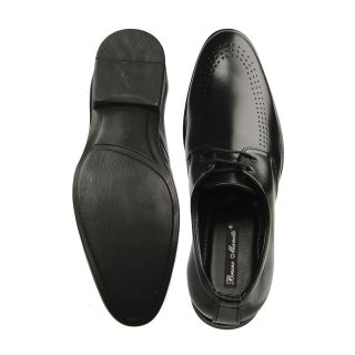 Bruno Manetti Black Formal Shoes (5603-Black)