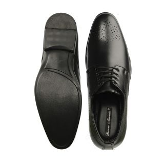 Bruno Manetti Black Formal Shoes (5607-Black)