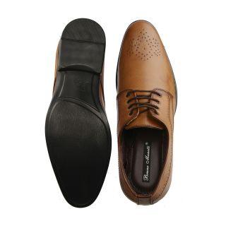 Bruno Manetti Tan Formal Shoes (5607-Tan)