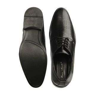 Bruno Manetti Black Formal Shoes (5613-Black)