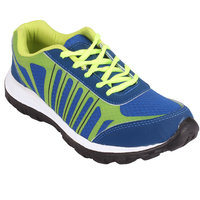 CLYMB 7002 BLUE PARROT GREEN SPORTS SHOES