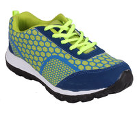 CLYMB 7003 BLUE P.GREEN SPORTS SHOES