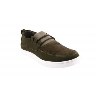 Bacca Bucci MenS  Dark Green Casual Shoes (BBMB3065G)