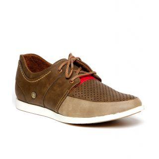 Bacca Bucci MenS  Dark Green Casual Shoes (BBMB3022G)