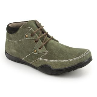 Bacca Bucci MenS  Dark Green Casual Shoes (BBMB3043G)