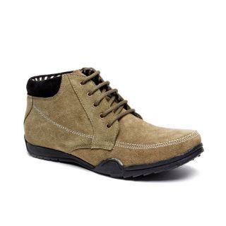 Bacca Bucci MenS  Dark Green Casual Shoes (BBMB3051G)