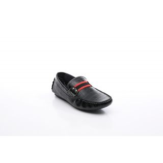 Bacca Bucci MenS  Black Casual Loafer Shoes (BBMC4010A)