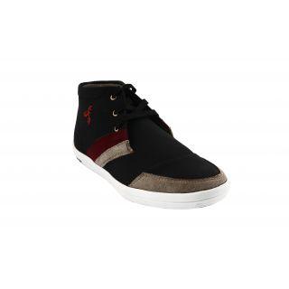 Bacca Bucci MenS  Black Casual Shoes (BBMB3089A)