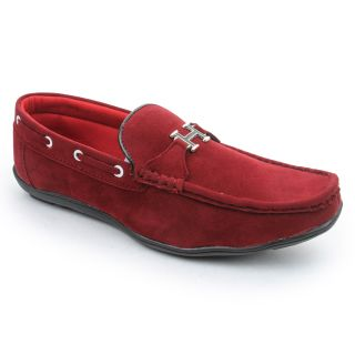 Bacca Bucci MenS  Red Casual Loafer Shoes (BBMC4022J)
