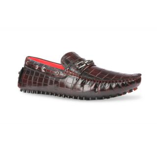 Bacca Bucci MenS  Maroon Casual Loafer Shoes (BBMC4004M)