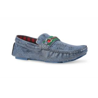 Bacca Bucci MenS  Blue Casual Loafer Shoes (BBMC4003B)
