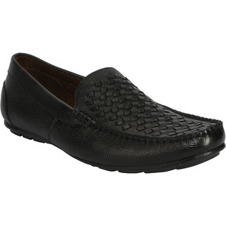 Bacca Bucci MenS  Black Casual Loafer Shoes (BBMC4042A)